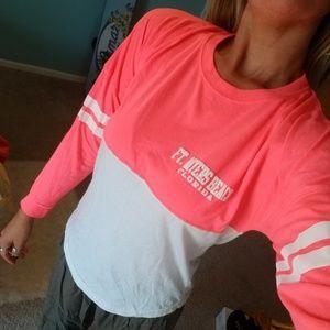 Neon tourist long sleeve t-shirt